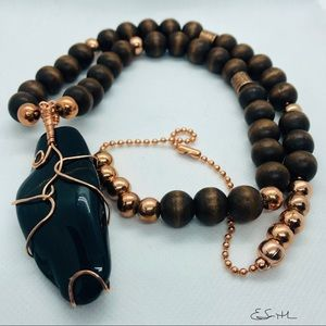 Other - Tigers Eye Men's Necklace